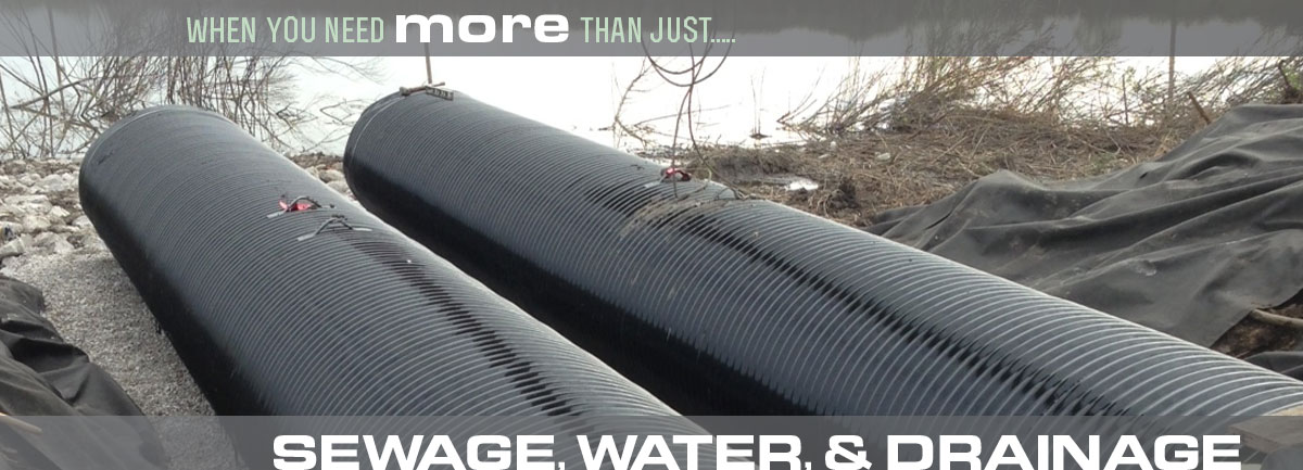 Sewage, Water, Drainage