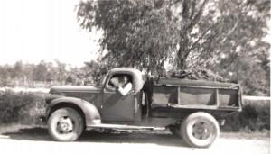 History - First Dump Truck